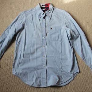 Tommy Hilfiger size 6 chambray button down shirt